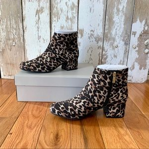 Kenneth Cole Reaction Road Stop Leopard Anke Boot